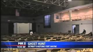 Ghost hunters converge on historic Fort Wayne