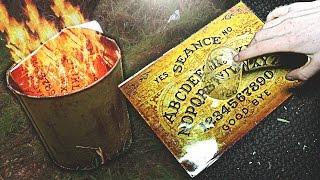 RETURNING TO BURN THE OUIJA BOARD In Abandoned MENTAL ASYLUM! (LIVE PARANORMAL ACTIVITY)