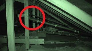 Shadow Apparition Caught in Attic - Real Paranormal Activity Part 19.2