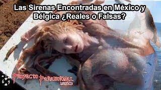 Las Sirenas Encontradas en México y Bélgica ¿Reales o Falsas? - Proyecto Paranormal México