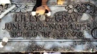 "THIS HEADSTONE READS ""VICTIM OF THE BEAST 666"" (Salt Lake Cemetery)"