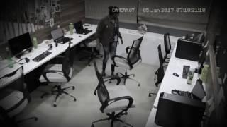 Scary Ghost attack caught on cctv camera goes viral | Scary videos