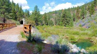 "Bizz Johnson Trail - Part 1 ""That Old Scenic Historical Hobo Route"" Susanville California"
