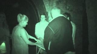 Fort Amherst ghost hunt - 8th August 2015 - Table Tilting