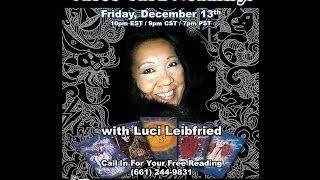 Paranormal Review Radio-Free Tarot Card Readings with Luci Leibfried