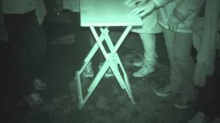 Fort Borstal ghost hunt - 25th September 2015 - Table Tilting