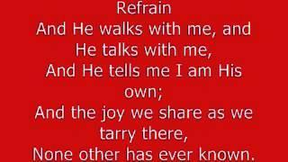 In The Garden Hymn   YouTube