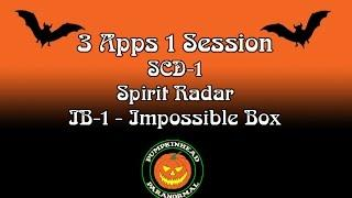 SCD-1, Spirit Radar & IB-1 Impossible Box Ghost Box Session on 5-2-16