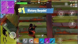 Fortnite Mobile WIN!