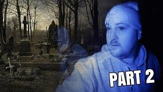 Ghost Hunting at OLD GRAVEYARD in the Woods! (Part 2)
