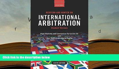 READ ONLINE  Redfern and Hunter on International Arbitration [DOWNLOAD] ONLINE