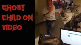 Ghost Child Caught on Video at Haunted Bank
