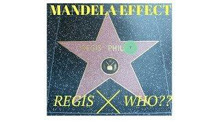possible Mandela Effect? - REGIS ? comment what u remember his name to be