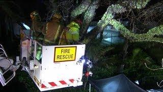 Homicide scene  Myers Park  Auckland  NZ