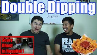 Double Dipping- Scary Ghost in Hospital!