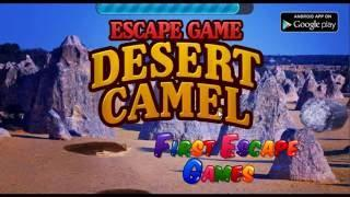 Escape Game Desert Camel Walkthrough - FirstEscapeGames