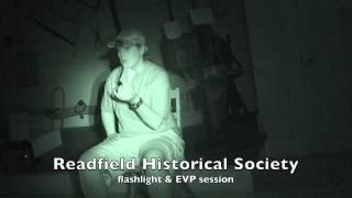 ZLP - S3 - OutTake - Readfield Historic Society -  Automatic Writing