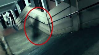 Real Ghost Caught on CCTV In An Eerie Building!! Ghost Videos