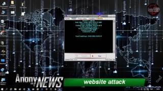 Website attack...