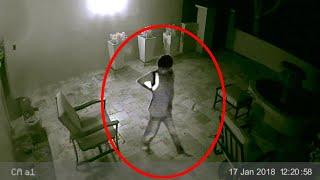 Ghost Walking Caught On CCTV!! Mysterious Ghost Sightings 2018