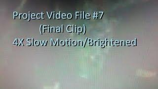 The In Deep Project Video File #7 (Final Clip) 4X Slow Motion/Brightened