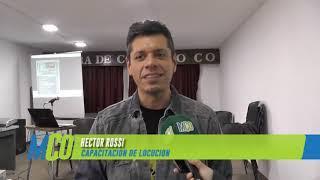 Capacitación de Radio y Locución por Héctor Rossi en Caleta Olivia | 3-11-2018