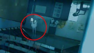 Scary Ghost Caught On Tape At School In Ireland!! Most Haunted Spirit Video!!