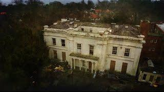 SCARY ABANDONED MANSION/CONVENT!creepy haunted mansion  urban exploring.