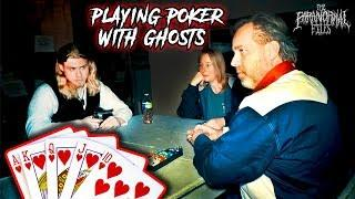 PLAYING POKER WITH THE DEAD (Scary Paranormal Activity Caught on Camera!) | THE PARANORMAL FILES