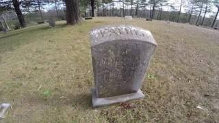 Bass Cemetery Visit and Stories Creepy Spooky Places and Abandoned Stuff I Found Down The Road