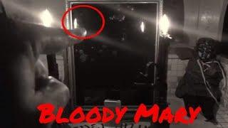 Warning! Bloody Mary Caught Caught on Tape in Mirror ! (Real Bloody Mary Gone Wrong Video)