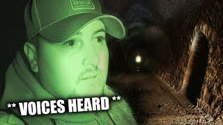 GHOST HUNTING AT CREEPY HAUNTED TUNNEL IN THE WOODS