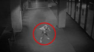 Horrendous Ghost Like Creature Caught On CCTV Camera!!