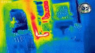 Thermal Anomally Captured at the Bellaire House