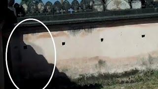 Ghost black figure caught on camera Real life ghost guard caught on tape Scary Videos