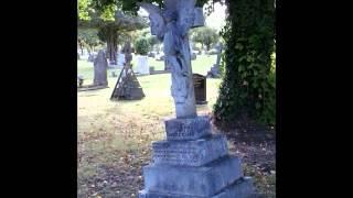 Cemetery EVP done With EVP CAPTURE APP + SOME PHOTOS