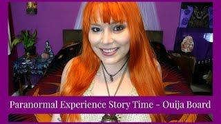 Paranormal Experience Storytime Ouija Board At Halloween