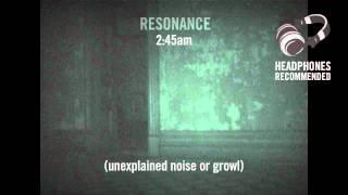 Disembodied growl recorded in West Administration, Mansfield Reformatory: 04.01.12