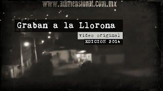 Grabaron a la Llorona en México (Video Paranormal)