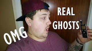 Real Ghost on Tape, Scary Ghosts Speak - Scary Paranormal Activity