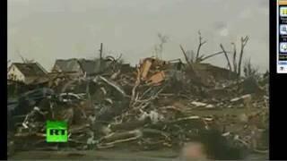 NOT A GHOST! Joplin Tornado Ghost coming out of Debris, Wreckage aftermath Debunked !