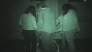 Nothe Fort ghost hunt - 16th January 2016 - Table tilting