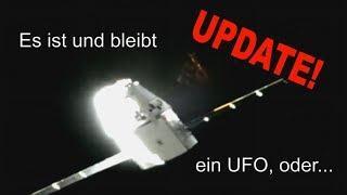 UFO hinter Dragon Kapsel - UPDATE!