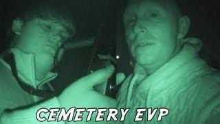 Spirits Speak in Reverse at the Cemetery - E.V.P. messages from beyond