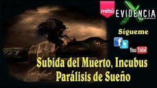 Subida Del Muerto, Incubus Y Parálisis Del Sueño