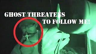GHOST Threatens Me! | Moments After Psychic ATTACK! | Real PARANORMAL Activity | HAUNTED Castle
