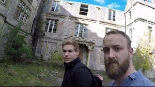 EXPLORING WITH CODY( at Denbigh mental asylum, Wales)
