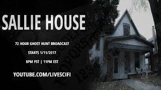 Sallie House LIVE Ghost Hunt!
