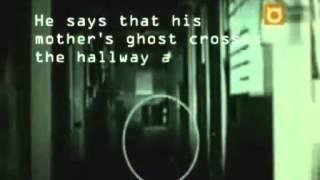 Ghost Walks the Hallway at Night