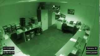 Paranormal Activity Caught On Tape. Is It A Ghost?!